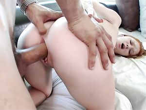 Cute Teen Redhead With Freckles Loves Big Cock