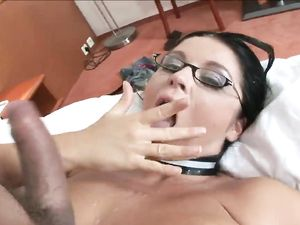 Leather Corset Babe With Big Titties Fucked To Climax