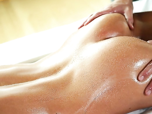 Slim Hottie Sabrina Banks Oiled Up And Fucked