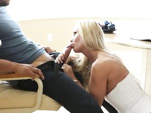 Milf In A Tight Corset Seduces Him For Erotic Sex