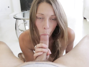 Exceptionally Beautiful Kirsten Lee Sucks Hard Dick