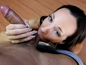 Jada Stevens Knows All About Sucking Cock
